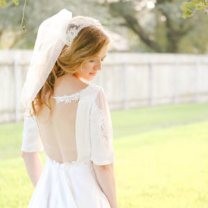 My Refashioned Vintage Wedding Dress