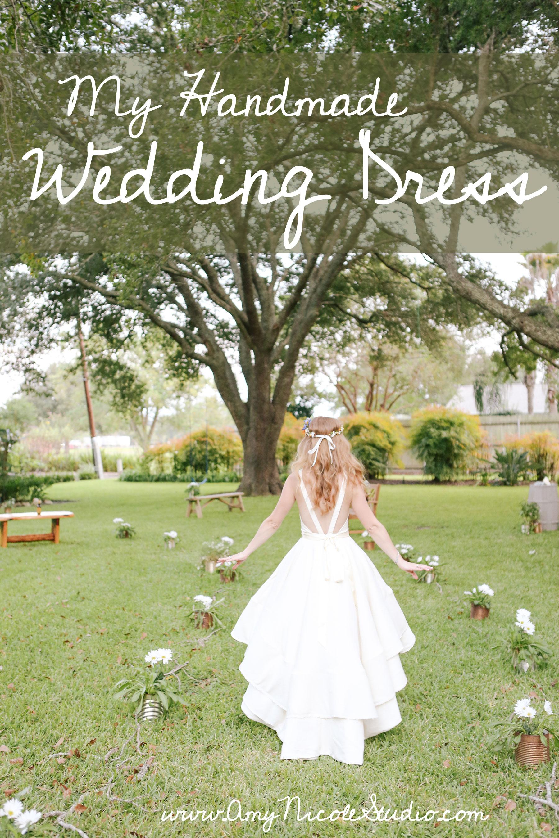 A Handmade Wedding Dress – Amy Nicole Studio
