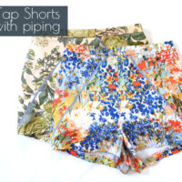 Katy and Laney Tap Shorts with Piping