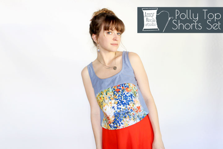 contrast polly top