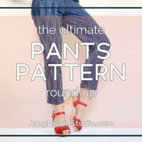 The Ultimate Pants Pattern Round-up