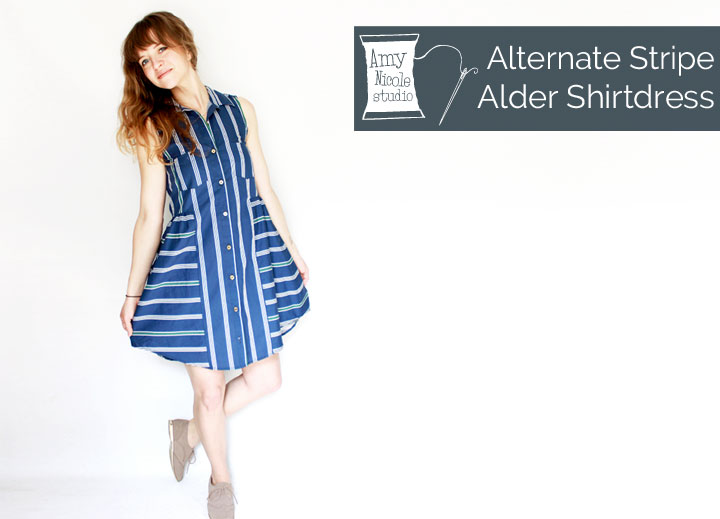 alder shirt dress
