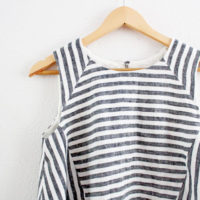 My Restyling Exchange Reveal: Collins Top by In the Folds