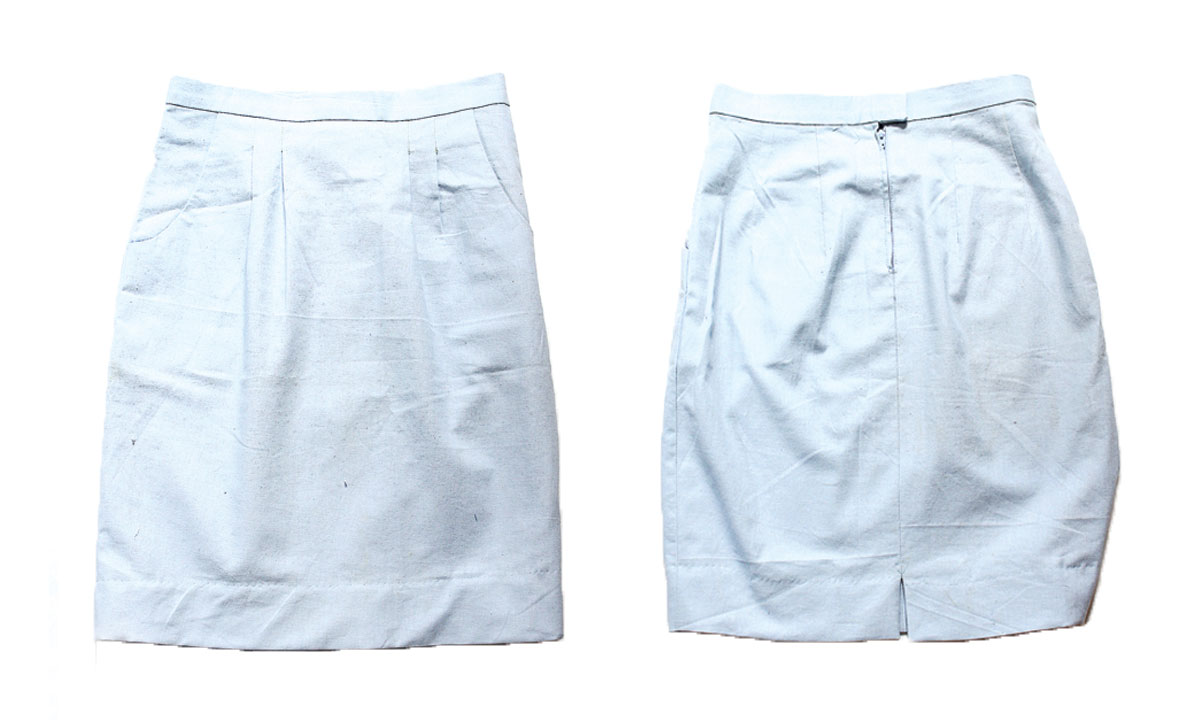 studio simple pencil skirt